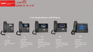 VOPTech Business SIP Phone